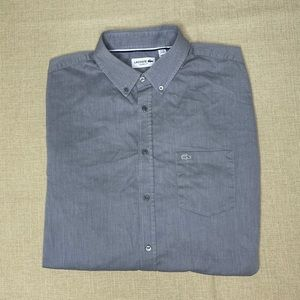 Lacoste long sleeve button down in excellent condi